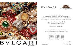 Bulgari e il Teatro San Carlo celebrano insieme l'arte e la bellezza