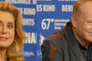 Catherine Deneuve e Stellan Skarsgård: ancora star sul red carpet di Berlino
