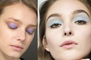 Make-up di Primavera: si ritorna ai colori tenui e le nuance pastello