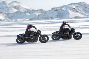 IN SELLA ALL'HARLEY DAVIDSON ANCHE D'INVERNO