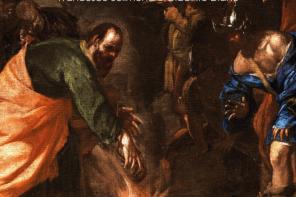 """Napoli- BAROQ ART BISTROT INAUGURA """"IN NUCE: BOZZETTI DEL BAROCCO NAPOLETANO"""""""