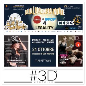 #3D Magazine alla notte della legalità