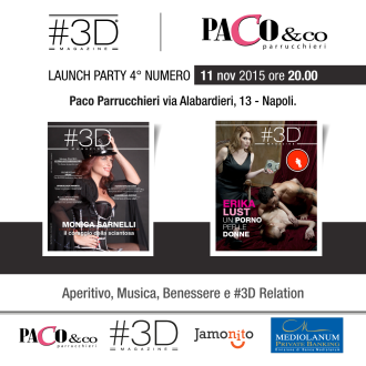 Lancio 4° numero #3D Magazine
