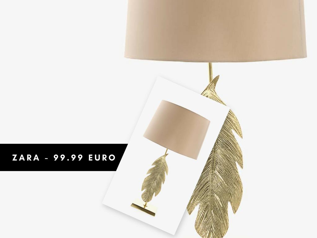 Lampada Zara