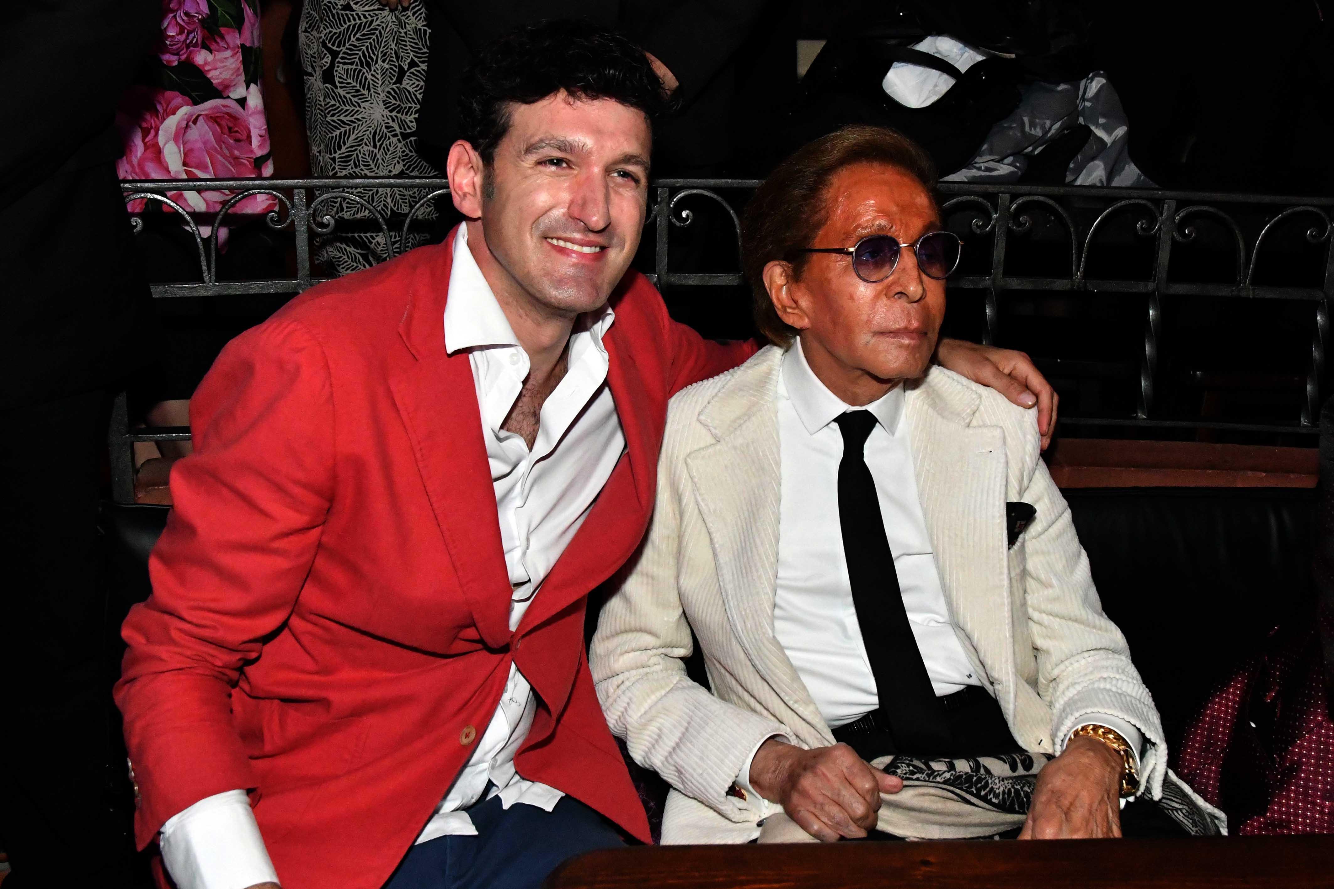 11.05.2019 Capri-Itlay: Valentino's 87th birthday, celebrated at the