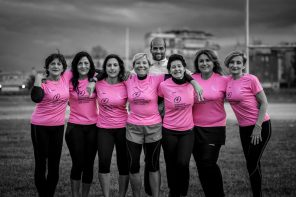 CORRERE PER LA VITA  PINK IS GOOD RUNNING TEAM