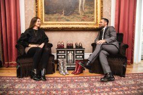 L'architetto della scarpa, Giordano Torresi, alla Milano Fashion Week