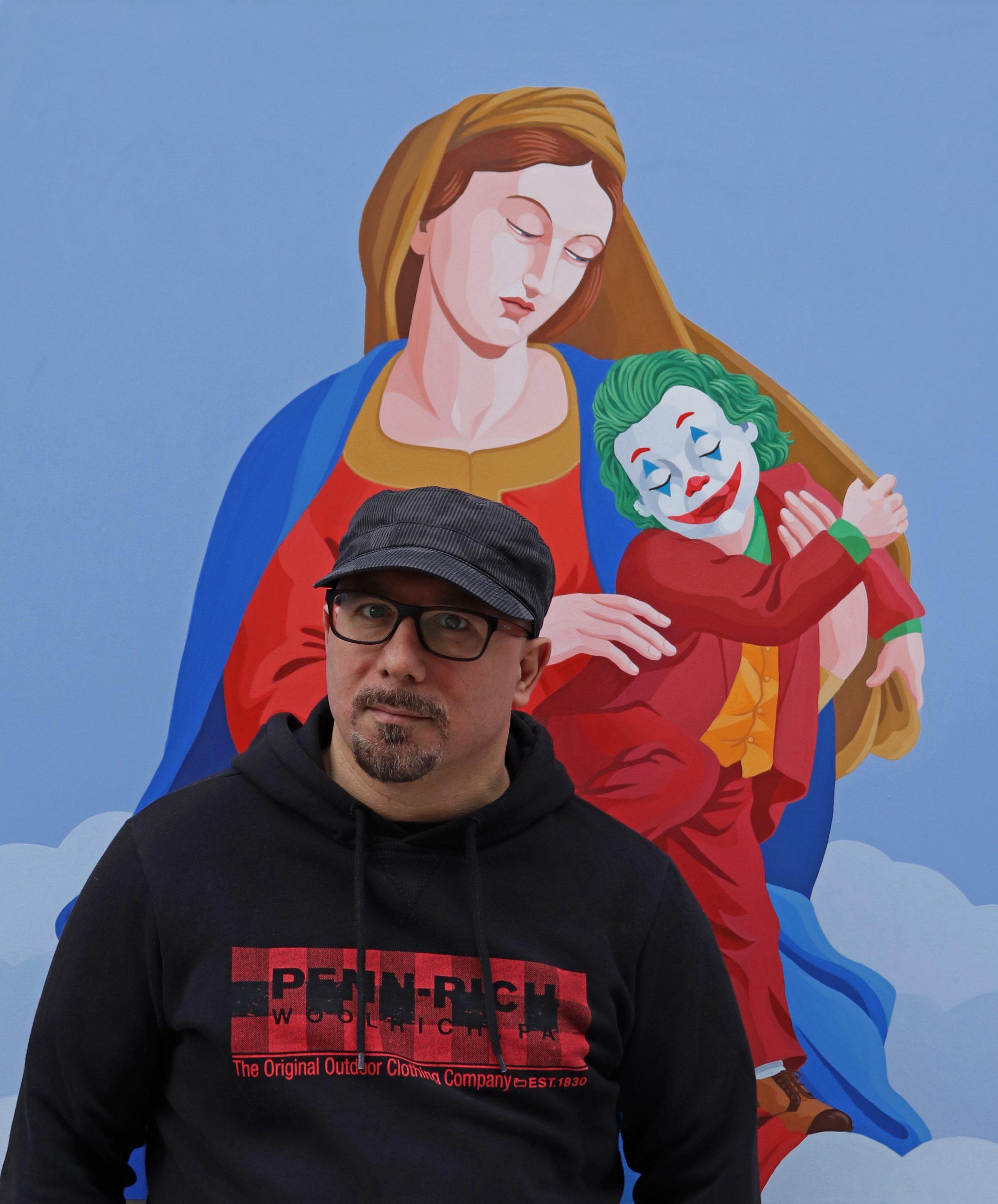 Giuseppe Veneziano, artista. La sua storia di quarantena