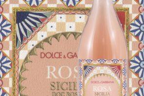 """""""Rosa"""" il vino in passerella Dolce&Gabbana"""