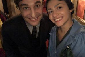 """Anna Lucia Pierro protagonista del primo episodio:""""Il Commissario Ricciardi"""""""