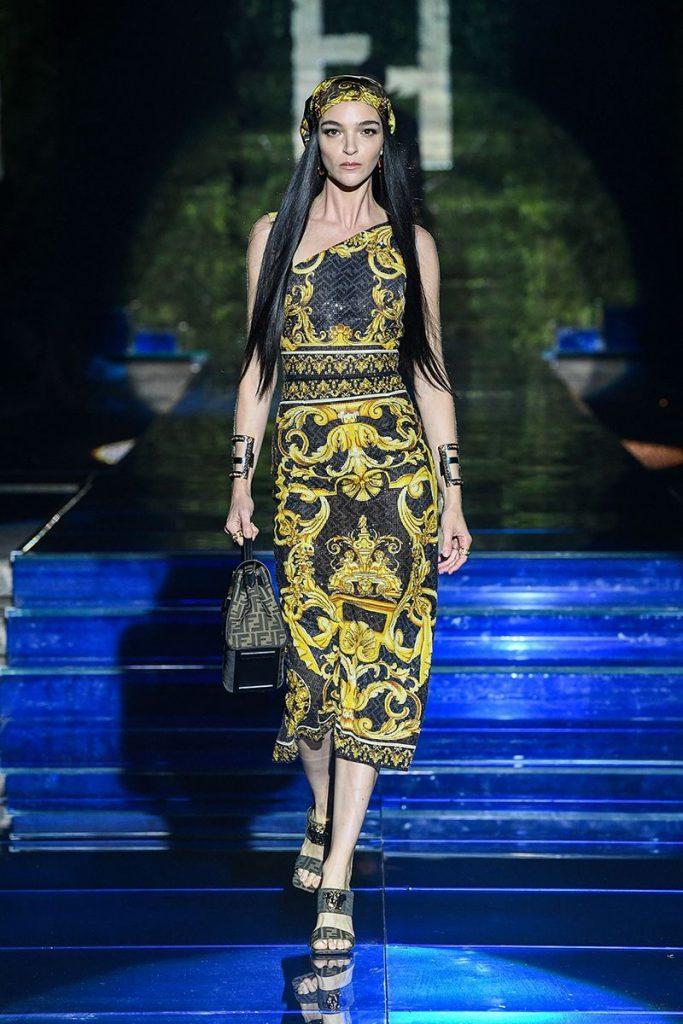 Mariacarla Boscono | Fendi+Versace
