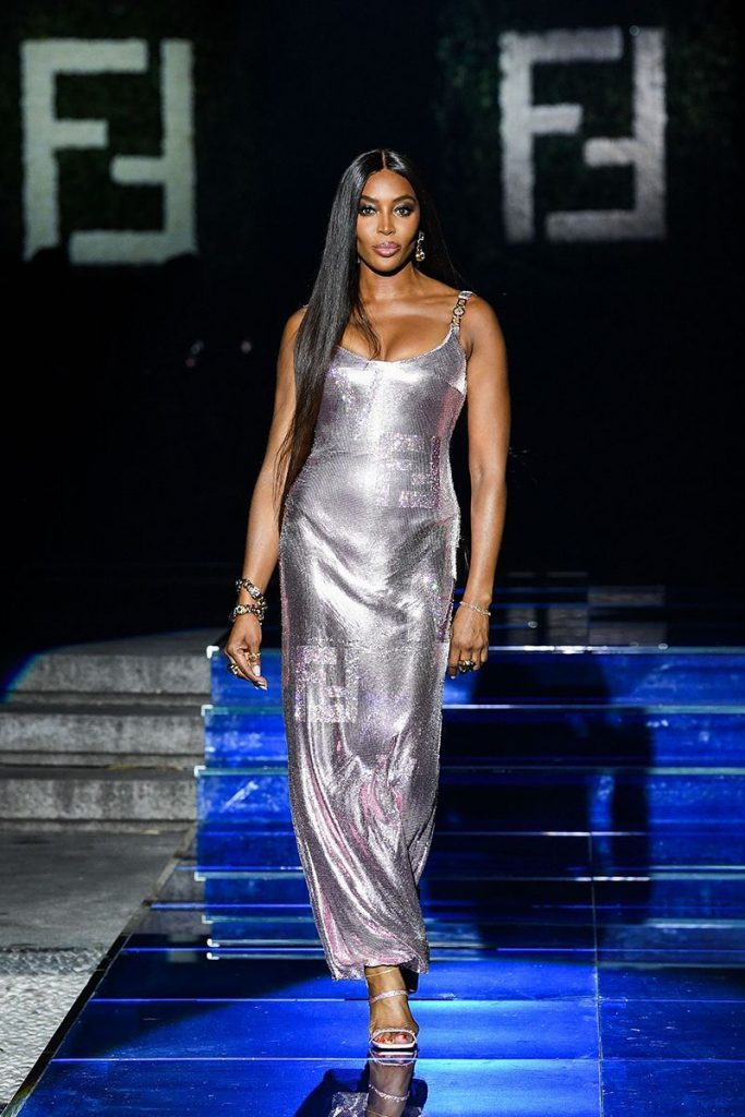 Naomi Campbell | Fendi+Versace