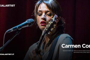 Carmen Consoli e il suo nuovo tour